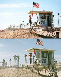 How heat effects film - comparison