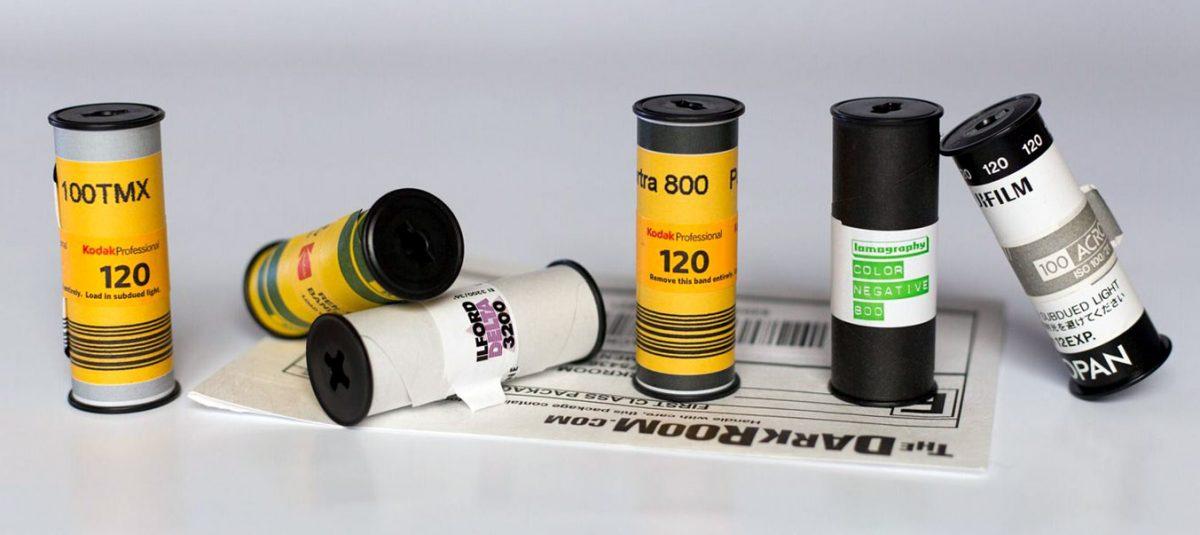 120 format film
