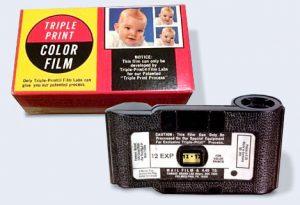 Triple Print Color Film