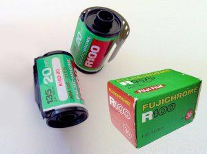 Fujicolor R100 35mm film
