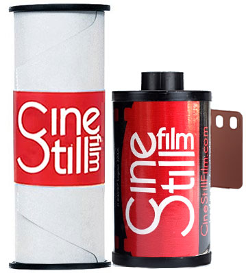 800T Cinestill Film 120 and 35mm