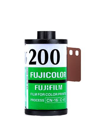FujiColor 200 FujiFilm 35mm