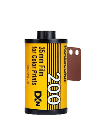 Kodacolor Colorplus 200 35mm film