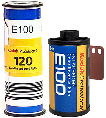 Kodak Ektachrome 100 35mm 120 film