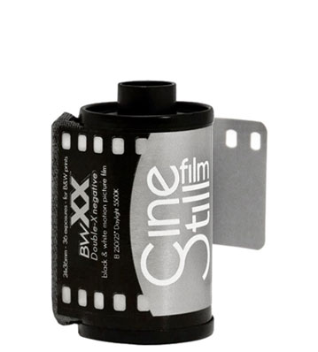 Cinestill BWXX 35mm film