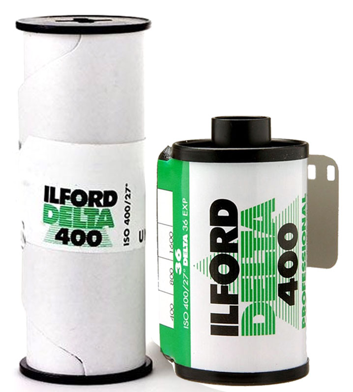 Ilford Delta 400, Black and White Film, 120 and 35mm film