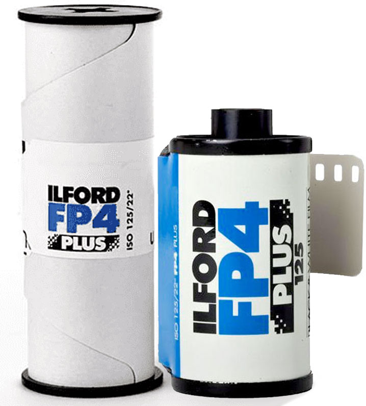 Ilford FP4 Plus Black and White 120 and 35mm Film
