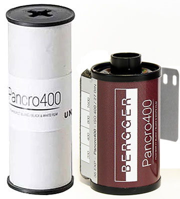 Bergger Pancro 400 35mm 120 film