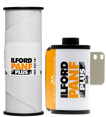 Ilford PANF 35mm & 120 film