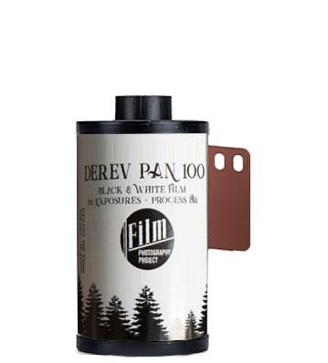 Derev Pan 100 35mm film