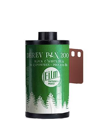 Derev Pan 200 35mm film