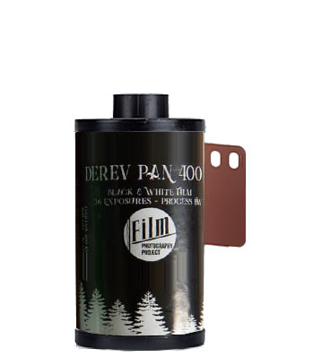Derev Pan 400 35mm film