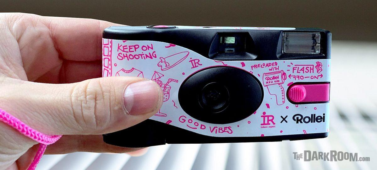 Rollei Inferno Ragazzi Disposable Camera