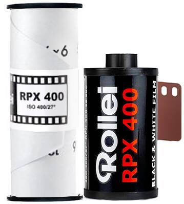 Rollei RPX 400 35mm 120 film