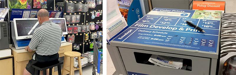 Walmart Photo Center Kiosk