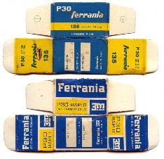 Ferrania 3M packaging