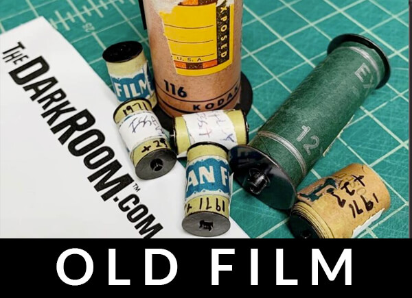 Developing old film