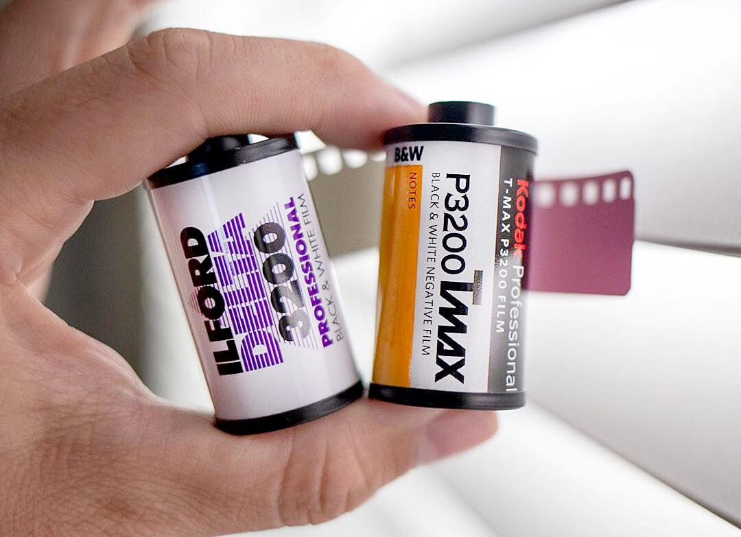 Low light films Ilford Delta 3200 & Kodak TMAX p3200